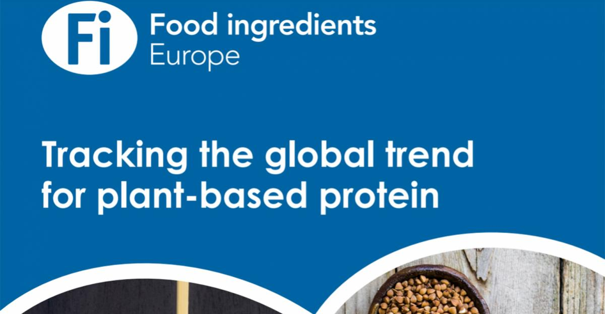 Tracking the global trend for plant-based protein [Report]