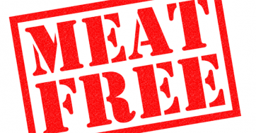 meat free banner