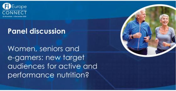 Women, seniors and e-gamers: new target audiences for active and performance nutrition? [On-demand webinar]