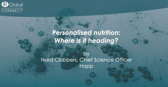 Personalised nutrition, where is it heading? [On-demand webinar]